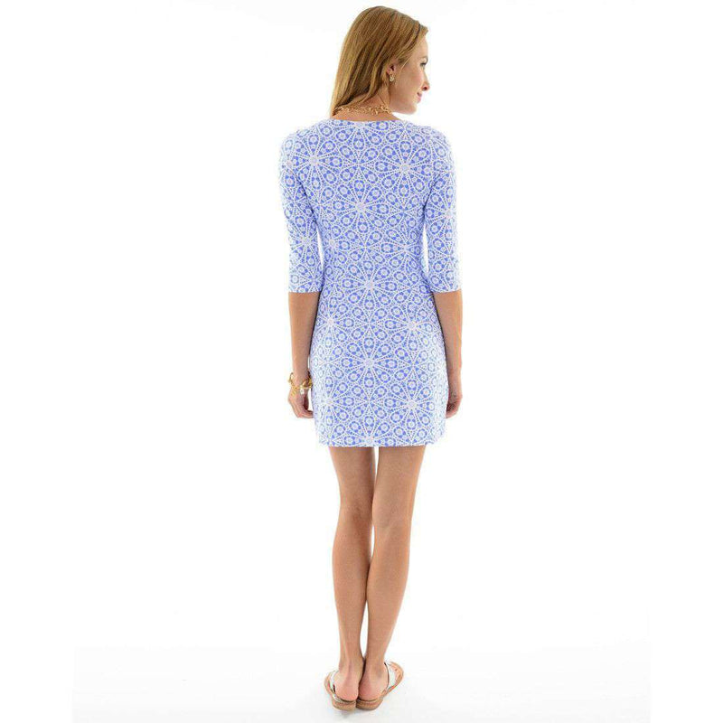 Dresses - Bimini Irish Lace Periwinkle Dress In Blue By Mahi Gold