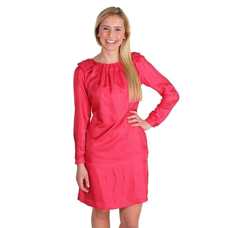 Bouvier Dress in Hot Pink by Elizabeth McKay - FINAL SALE