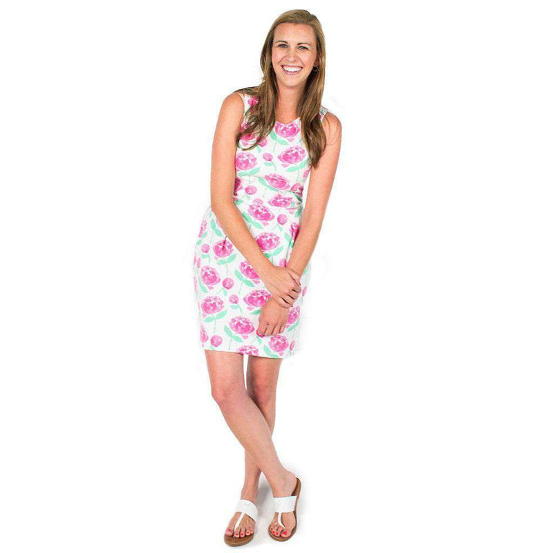 Dresses - Callie Dress In Peonies By Mahi Gold