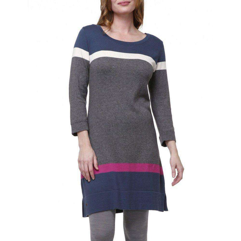 Dresses - Charcoal Turkish Sweater Knit Dress By Haltey - FINAL SALE
