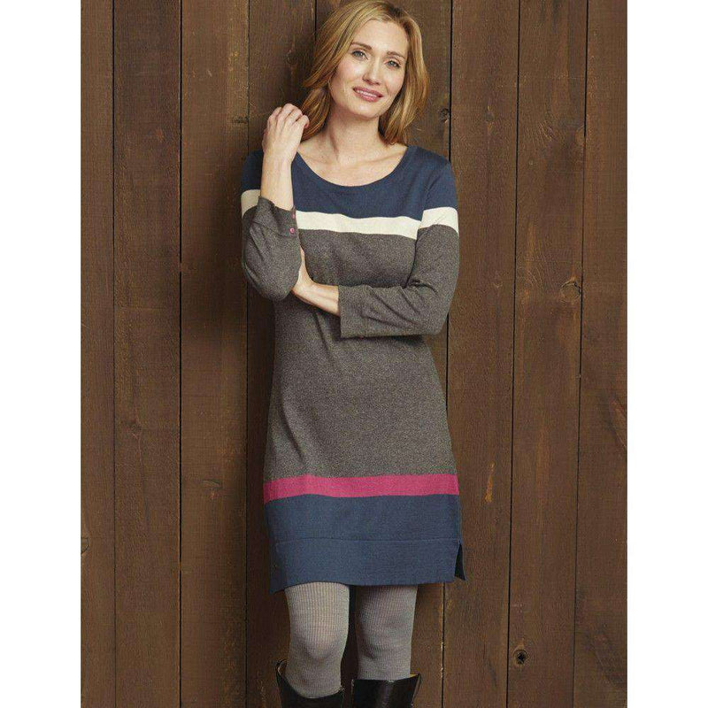 Charcoal Turkish Sweater Knit Dress by Haltey - FINAL SALE