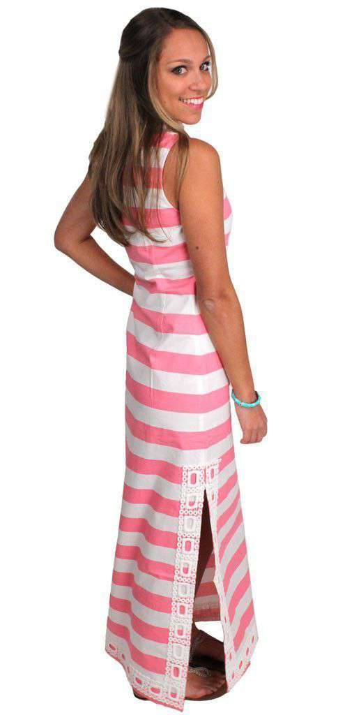 Dresses - Cheers To Chic Sleeveless Maxi Dress In Candy Pink By Sail To Sable