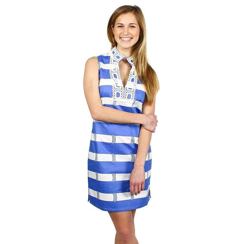 Dresses - Colony Chic Dress In Marina Blue By Sail To Sable
