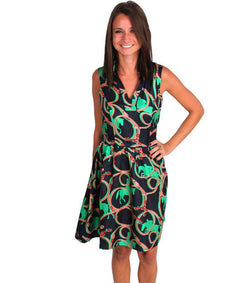 Dresses - Fall Flirty Dress In Navy By Sail To Sable
