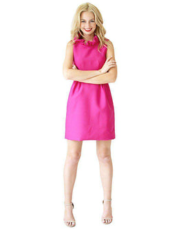 Dresses - Go Go Dress In Fuchsia By Camilyn Beth