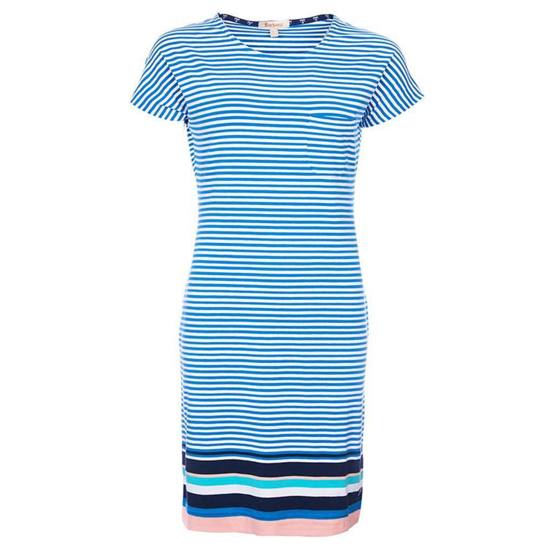 Dresses - Harewood Dress In Beachcomber Blue By Barbour