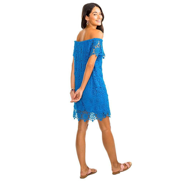 Dresses - Isabel Grace Dress In Blue Stream By Southern Tide