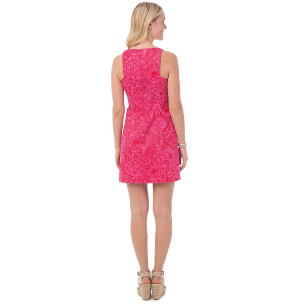 Dresses - Kennedy Dress In Seapine Floral By Southern Tide - FINAL SALE