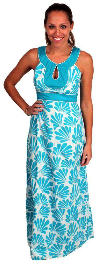 Dresses - Maho Bay Dress In Turquoise By Southern Frock - FINAL SALE