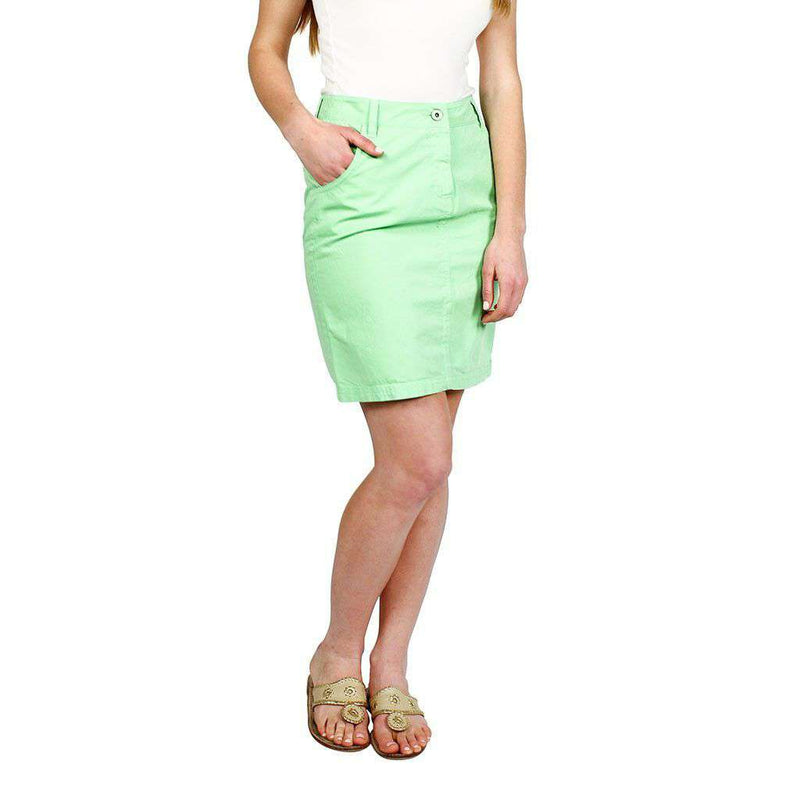 Manon Skirt in Lime Green by Saint James - FINAL SALE