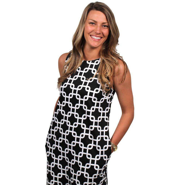 Mod Squad Dress in Black and White by Gretchen Scott Designs - FINAL SALE