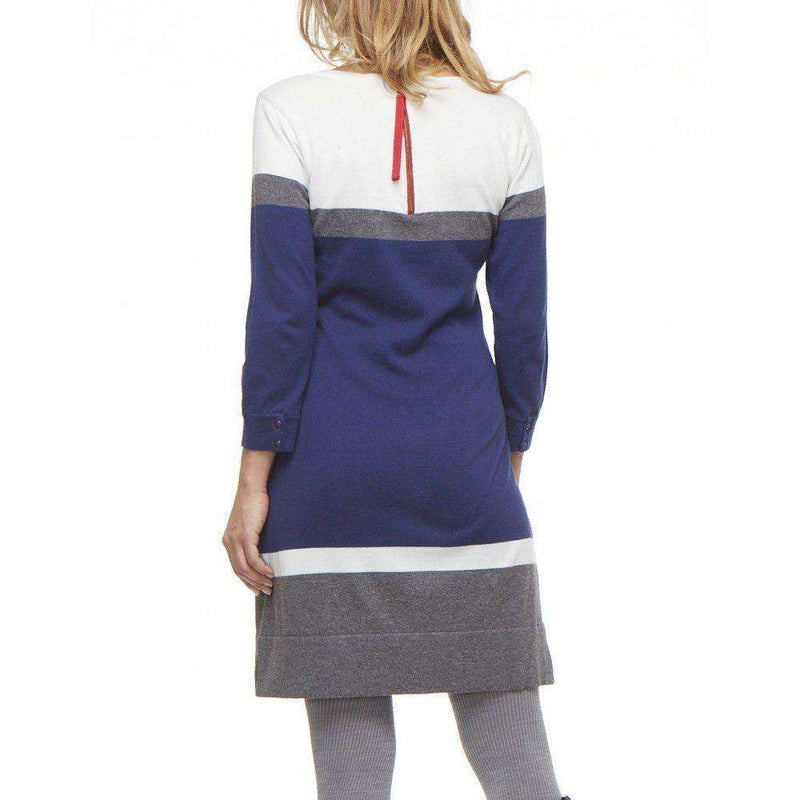 Navy Turkish Sweater Knit Dress by Hatley - FINAL SALE