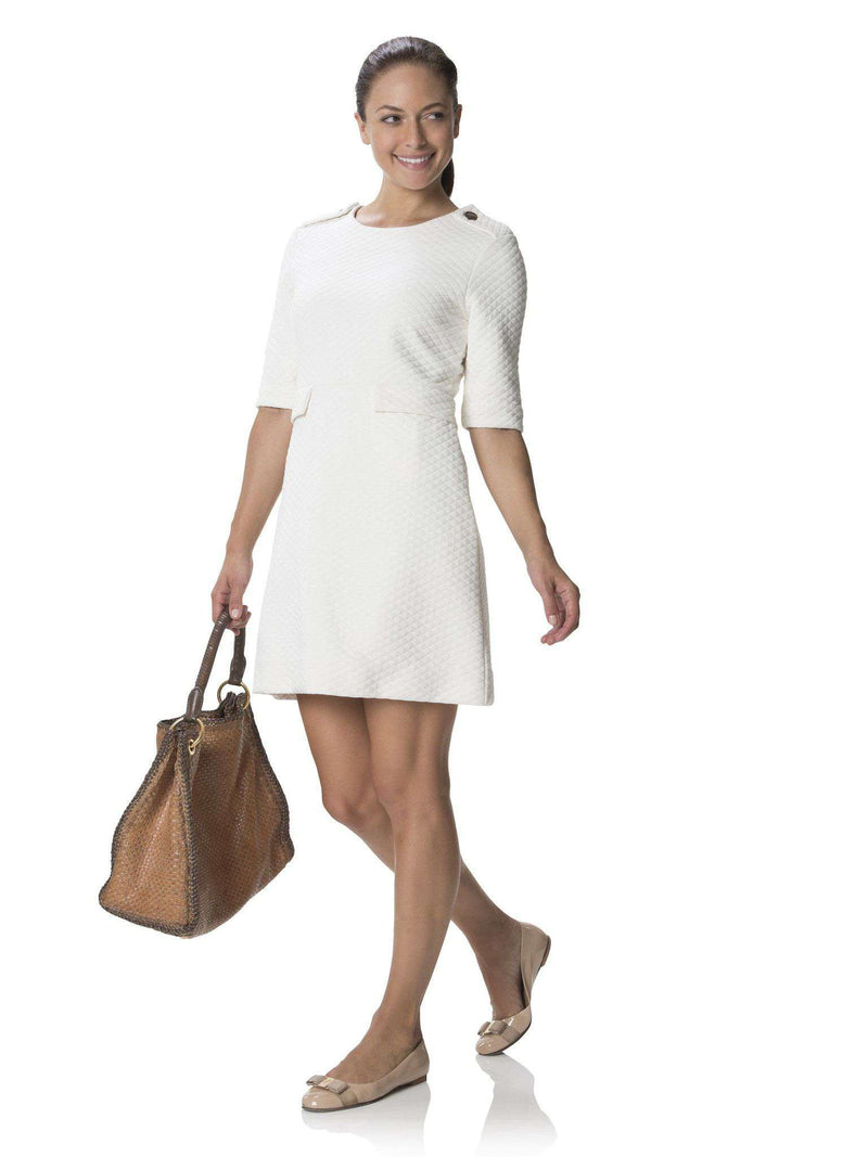 Dresses - Party In The Park Dress In Cream By Sail To Sable