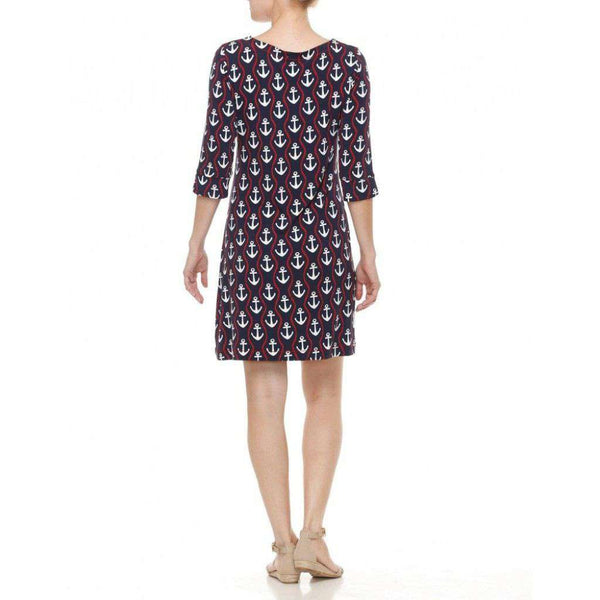 Peplum Dress in Ropes & Anchors by Hatley - FINAL SALE
