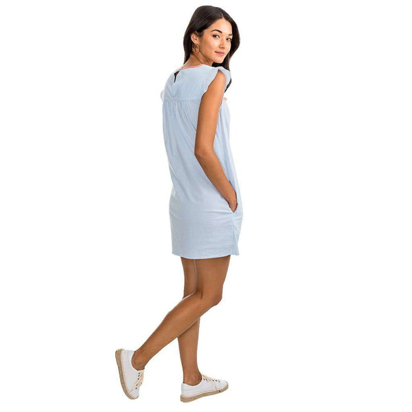 Dresses - Sadie Dress In Boat Blue By Southern Tide