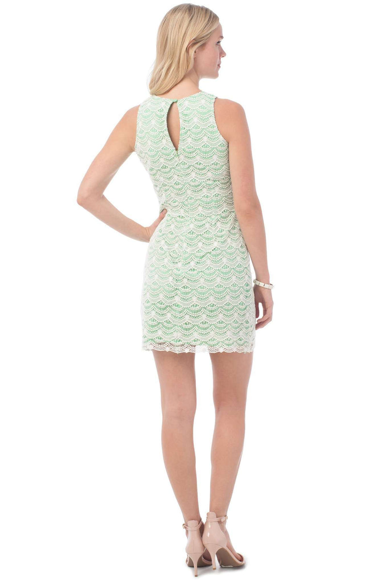 Sawyer Lace Dress in Starboard Green by Southern Tide - FINAL SALE