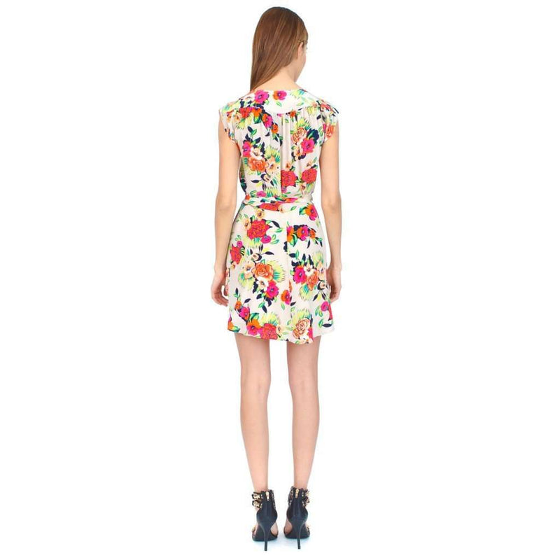 Soho Mixer Dress in Peonies Bloom by Yumi Kim
