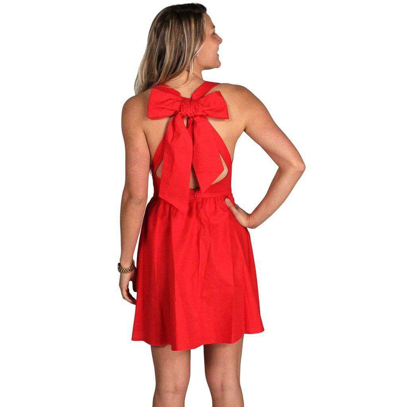 Dresses - The Augusta Dress In Red By Lauren James - FINAL SALE