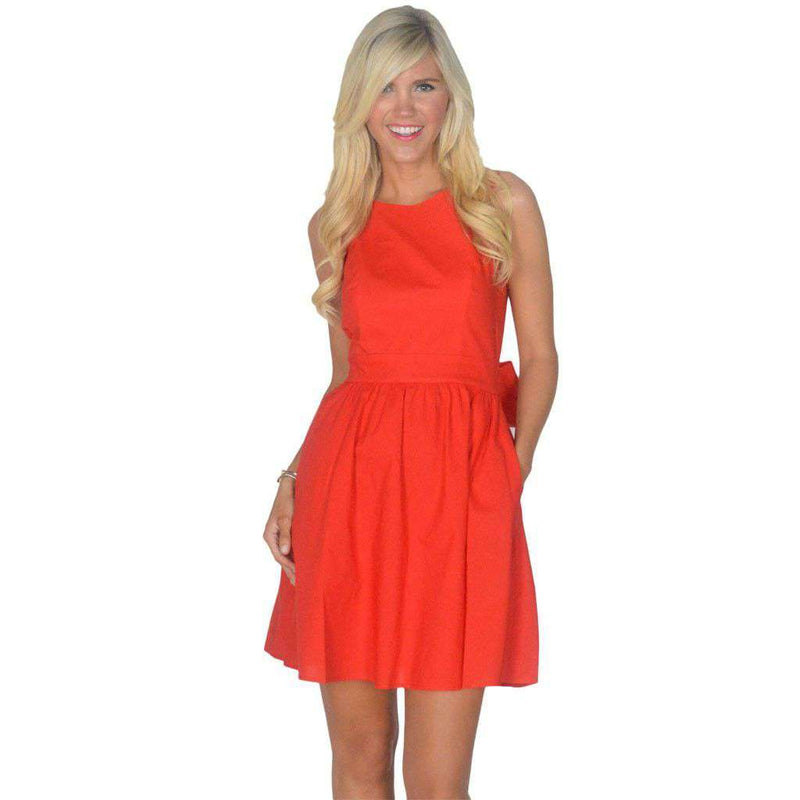 Dresses - The Emerson Dress In Red By Lauren James - FINAL SALE