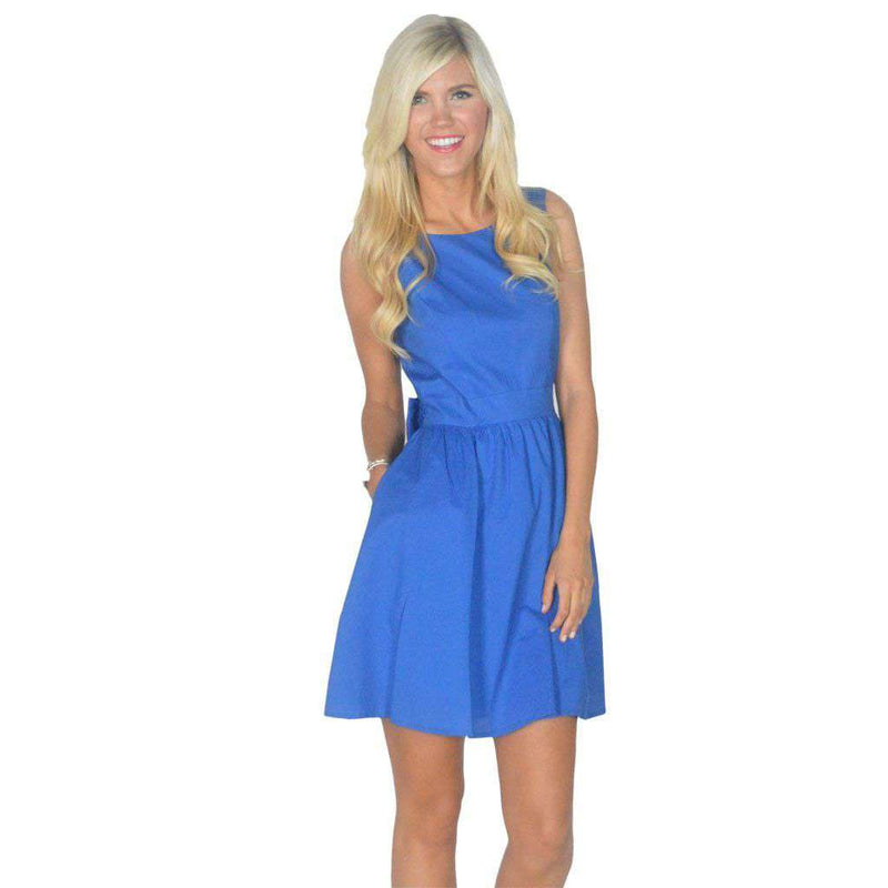 Dresses - The Emerson Dress In Royal Blue By Lauren James - FINAL SALE