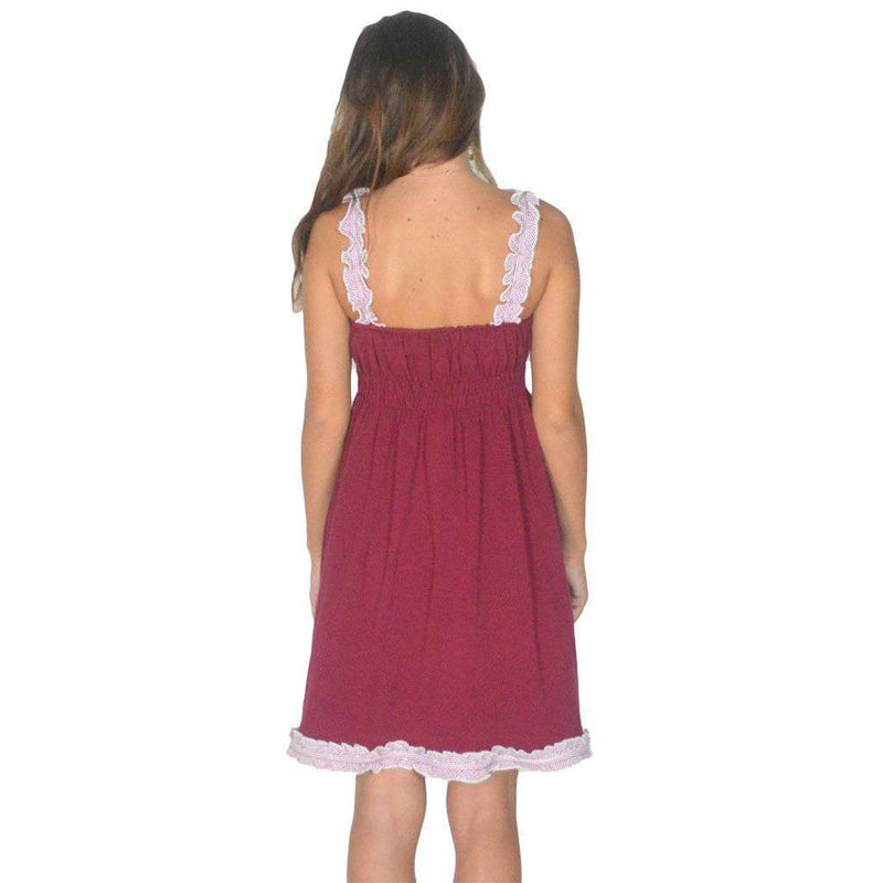 The Mackenzie Dress in Crimson by Lauren James - FINAL SALE