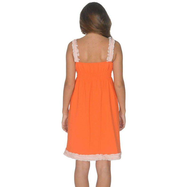 Dresses - The Mackenzie Dress In Orange By Lauren James - FINAL SALE