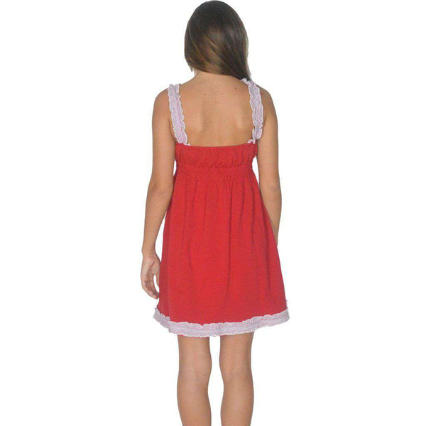 Dresses - The Mackenzie Dress In Red By Lauren James - FINAL SALE