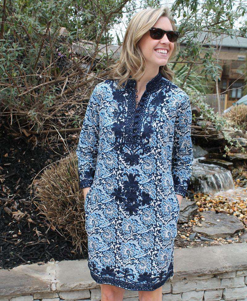 Dresses - The Rabat Dress In Midnight O'Keefe By Gretchen Scott Designs - FINAL SALE