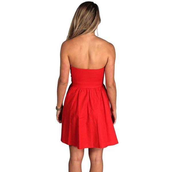 Dresses - The Savannah Dress In Red By Lauren James - FINAL SALE