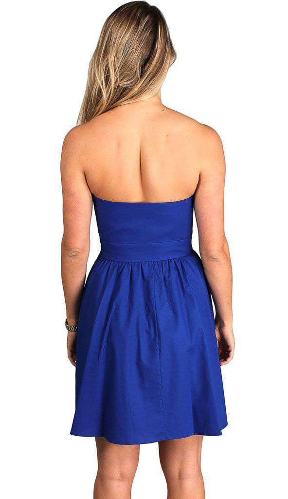 Dresses - The Savannah Dress In Royal Blue By Lauren James - FINAL SALE