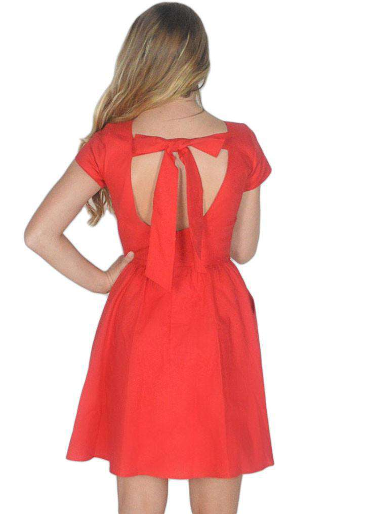 The Sheridan Dress in Red by Lauren James - FINAL SALE
