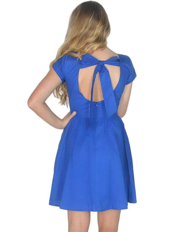 Dresses - The Sheridan Dress In Royal Blue By Lauren James - FINAL SALE