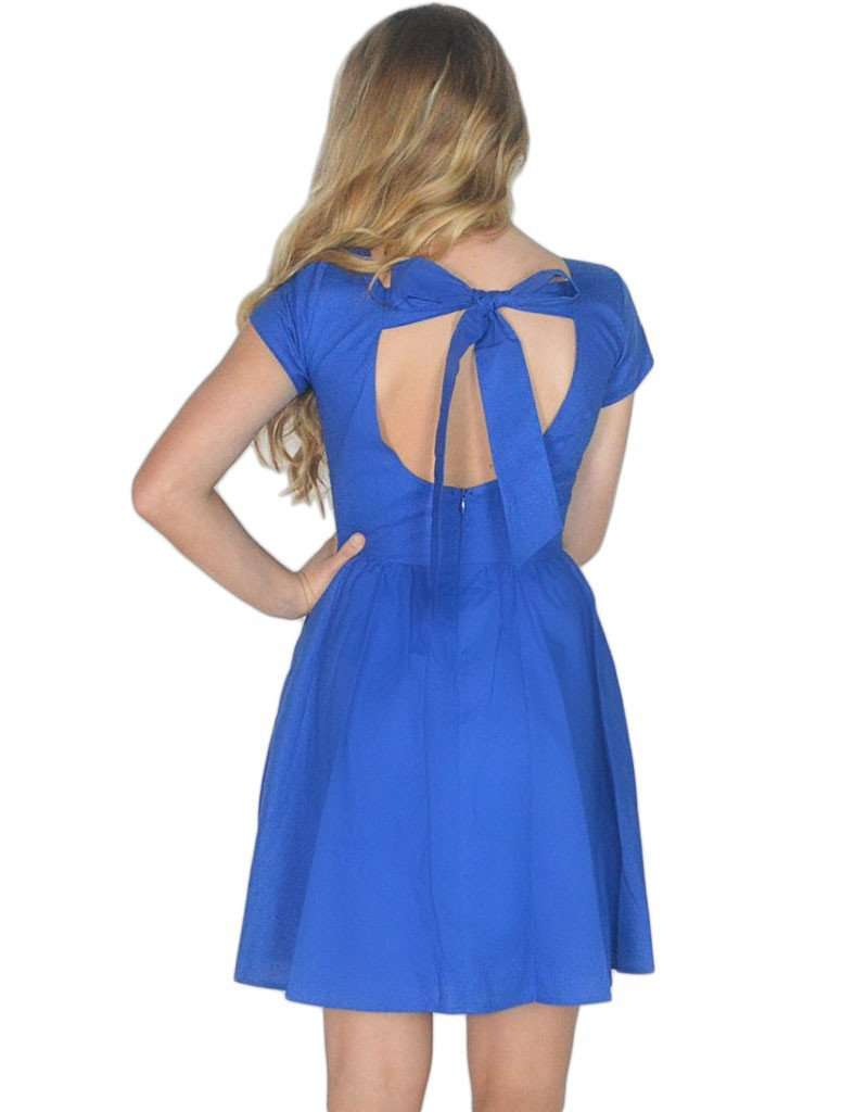 The Sheridan Dress in Royal Blue by Lauren James - FINAL SALE