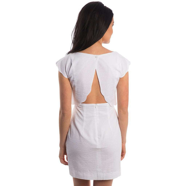Dresses - The Sullivan Seersucker Dress In White By Lauren James