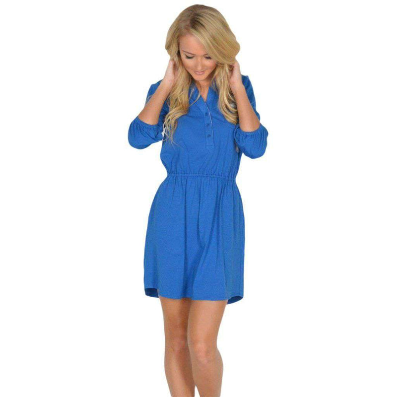 Dresses - The Virginia Jersey Dress In Royal Blue By Lauren James - FINAL SALE