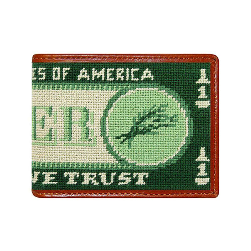 Beer Money Needlepoint Wallet by Smathers & Branson