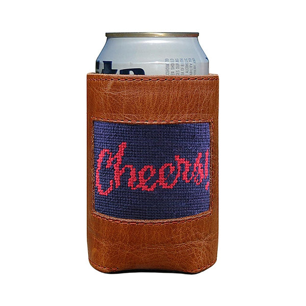 Cheers Needlepoint Can Cooler by Smathers & Branson