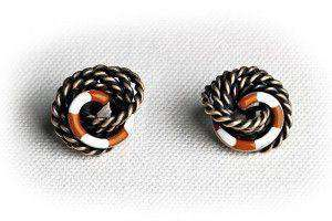 Earrings - Castaway Riptide Overboard Knot Earrings By Kiel James Patrick