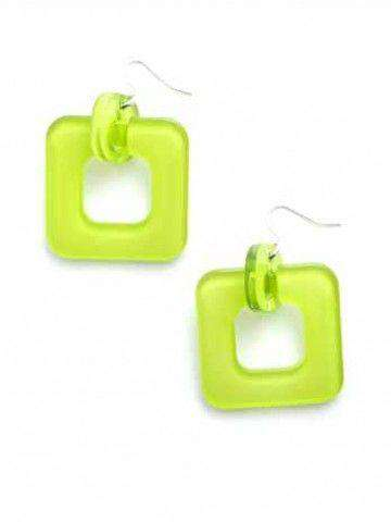 Earrings in Lime by Zenzii - Country Club Prep