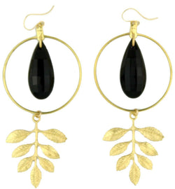 Earrings - Monaco Earring In Gold  By Moon And Lola
