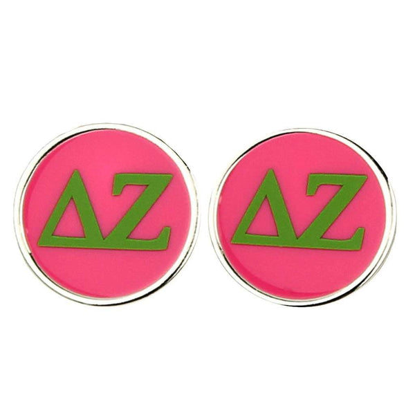 Small Delta Zeta Stud Earrings by Fornash