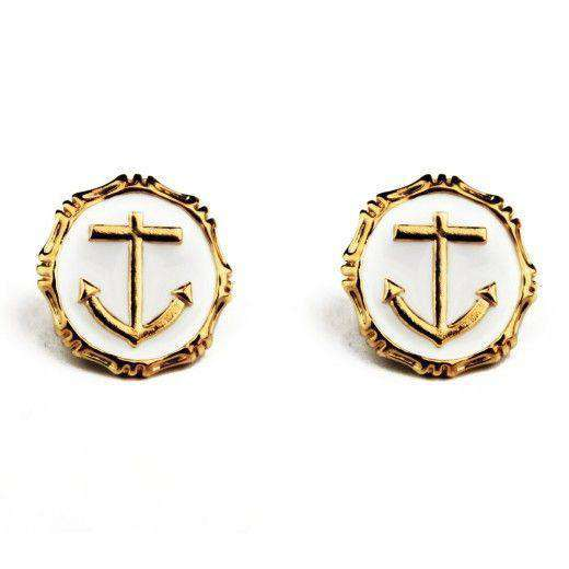 Stockard Landing Earrings in Pearl by Pink Pineapple