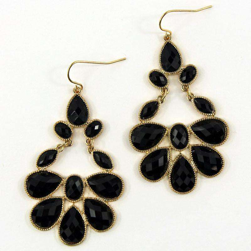 Earrings - Turkish Earring In Black By Caroline Hill
