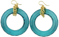 Earrings - Winston Earring In Turquoise By Moon And Lola - FINAL SALE
