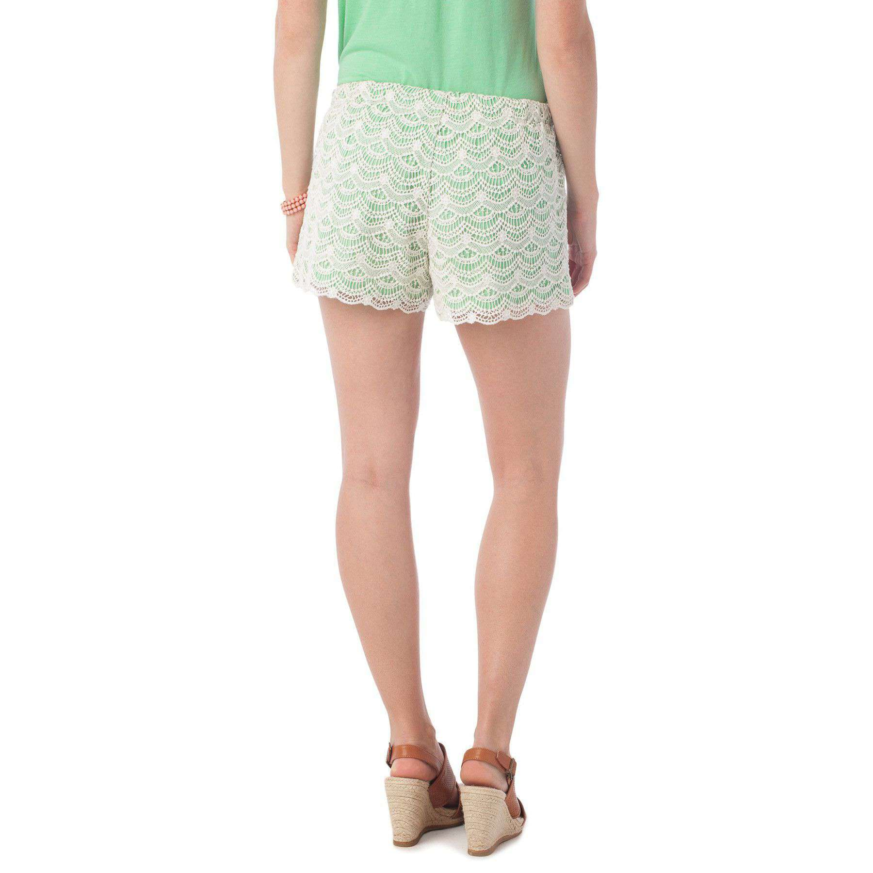 Emma Lace Short in Starboard by Southern Tide