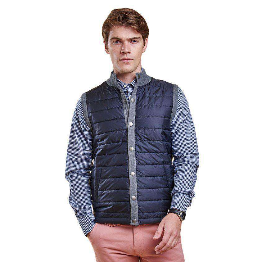 Essential Gilet in Mid Grey by Barbour  - 1