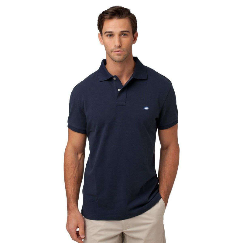 Exclusive Ambassador Product - Country Club Prep Ambassador Skipjack Polo In Navy By Southern Tide