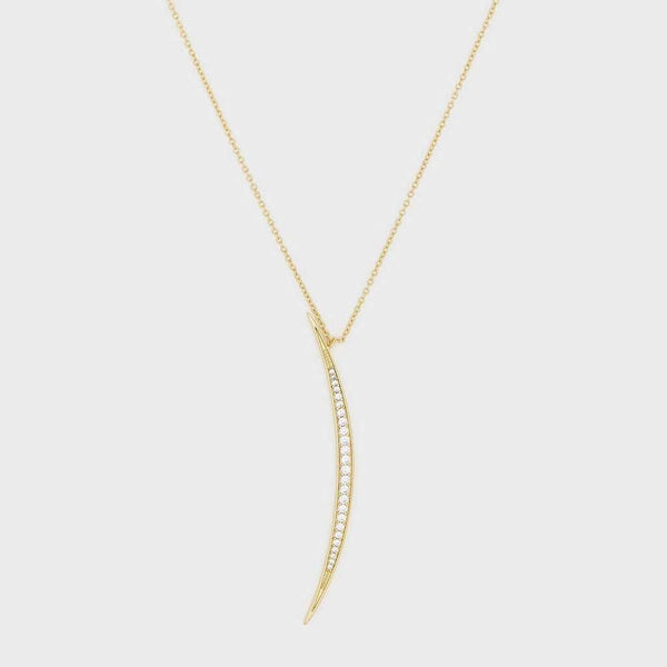 Gorjana Crescent Pendant Necklace by Gorjana
