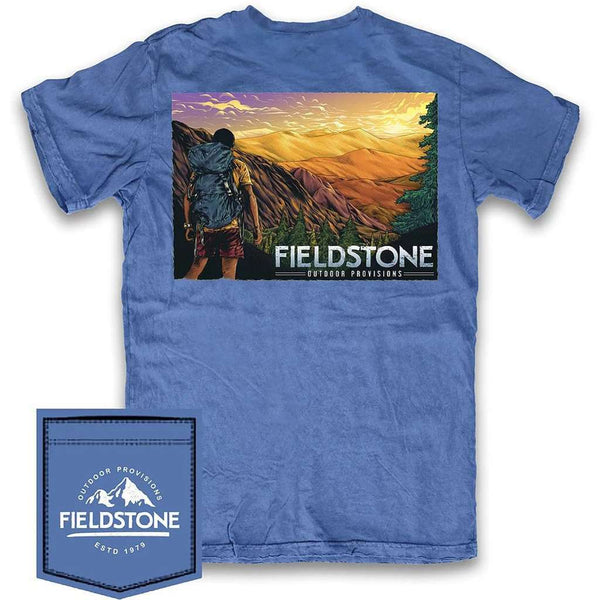 Fieldstone Outdoor Provisions Co. Mountain Top Tee Shirt by Fieldstone Outdoor Provisions Co.