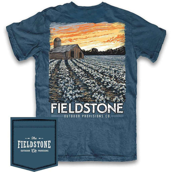 Fieldstone Outdoor Provisions Co. Cotton Field Tee Shirt by Fieldstone Outdoor Provisions Co.